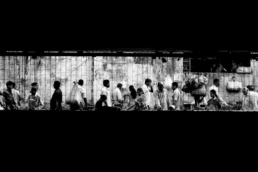 «Метрополис», «Голуби» и «Манхэттен» городского фотографа Алана Шаллера 25