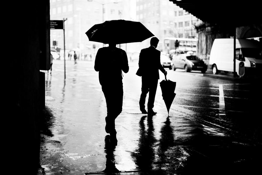 «Метрополис», «Голуби» и «Манхэттен» городского фотографа Алана Шаллера 27