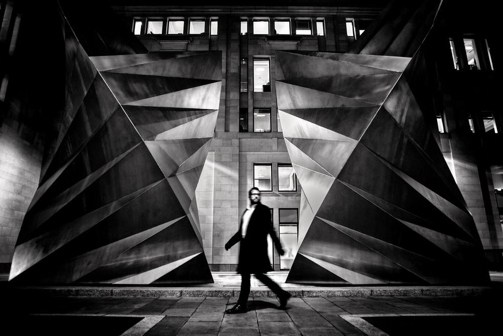 «Метрополис», «Голуби» и «Манхэттен» городского фотографа Алана Шаллера 41