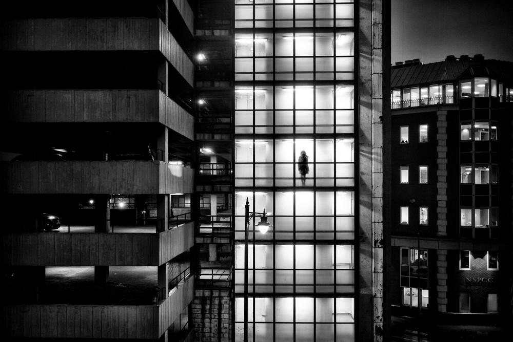 «Метрополис», «Голуби» и «Манхэттен» городского фотографа Алана Шаллера 42