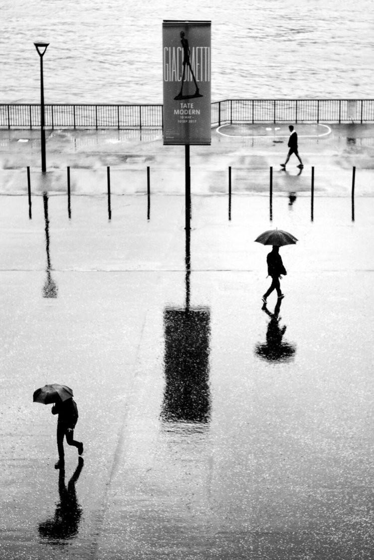 «Метрополис», «Голуби» и «Манхэттен» городского фотографа Алана Шаллера 50
