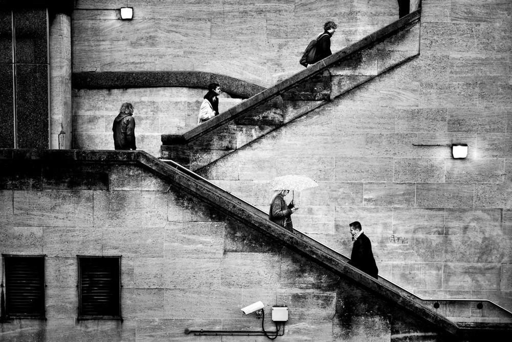 «Метрополис», «Голуби» и «Манхэттен» городского фотографа Алана Шаллера 56 1