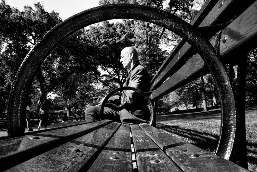 «Метрополис», «Голуби» и «Манхэттен» городского фотографа Алана Шаллера 59