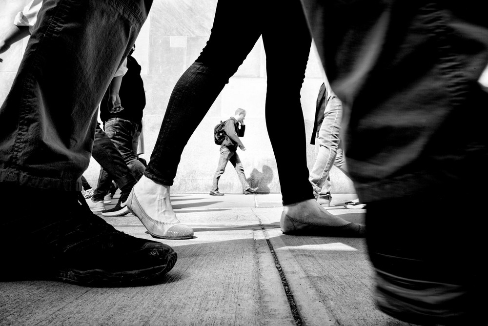 «Метрополис», «Голуби» и «Манхэттен» городского фотографа Алана Шаллера 9