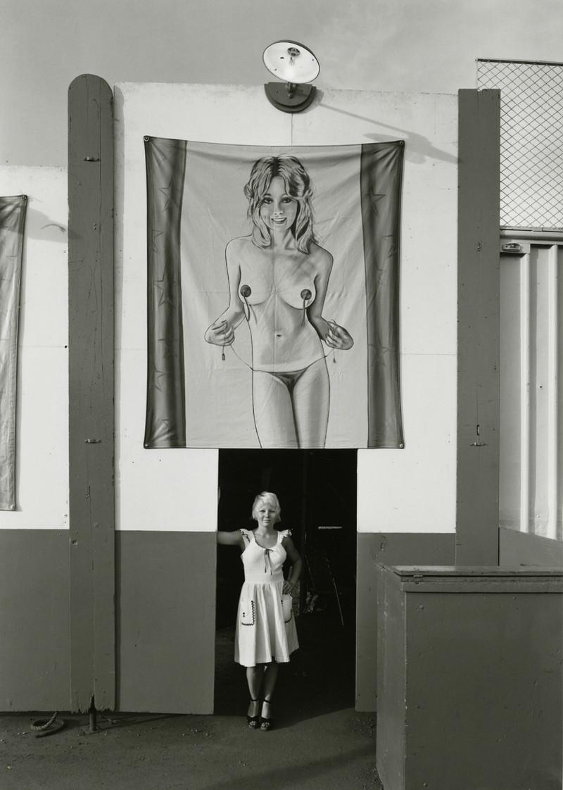 Американская история ужасов: реальные бродячие цирки в документальном фотопроекте Рэндала Левенсона 1971-81гг 13