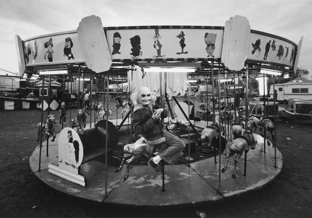 Американская история ужасов: реальные бродячие цирки в документальном фотопроекте Рэндала Левенсона 1971-81гг 17