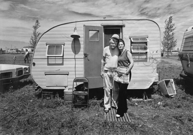 Американская история ужасов: реальные бродячие цирки в документальном фотопроекте Рэндала Левенсона 1971-81гг 18