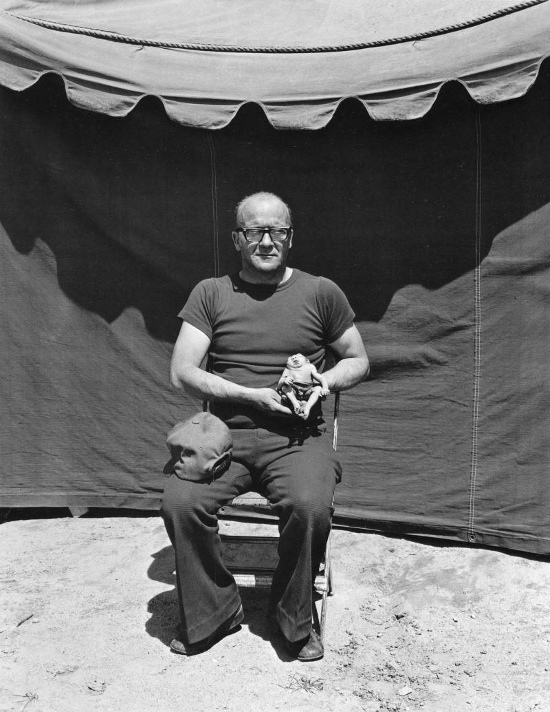 Американская история ужасов: реальные бродячие цирки в документальном фотопроекте Рэндала Левенсона 1971-81гг 19
