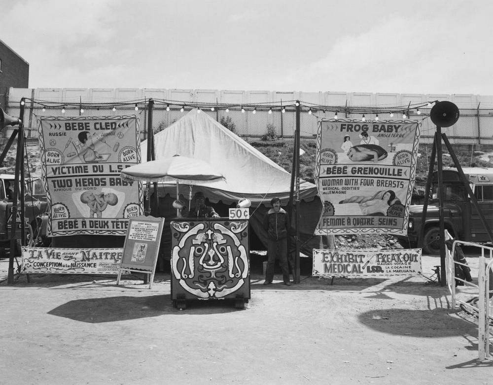 Американская история ужасов: реальные бродячие цирки в документальном фотопроекте Рэндала Левенсона 1971-81гг 25