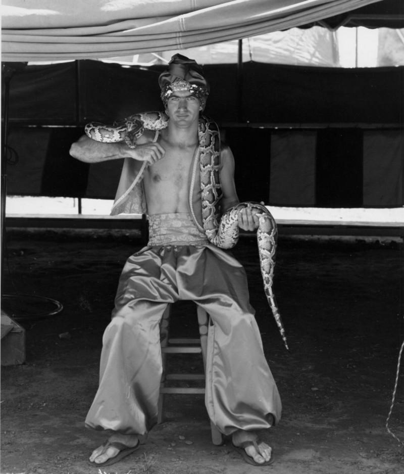 Американская история ужасов: реальные бродячие цирки в документальном фотопроекте Рэндала Левенсона 1971-81гг 27