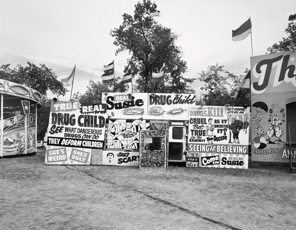 Американская история ужасов: реальные бродячие цирки в документальном фотопроекте Рэндала Левенсона 1971-81гг 28
