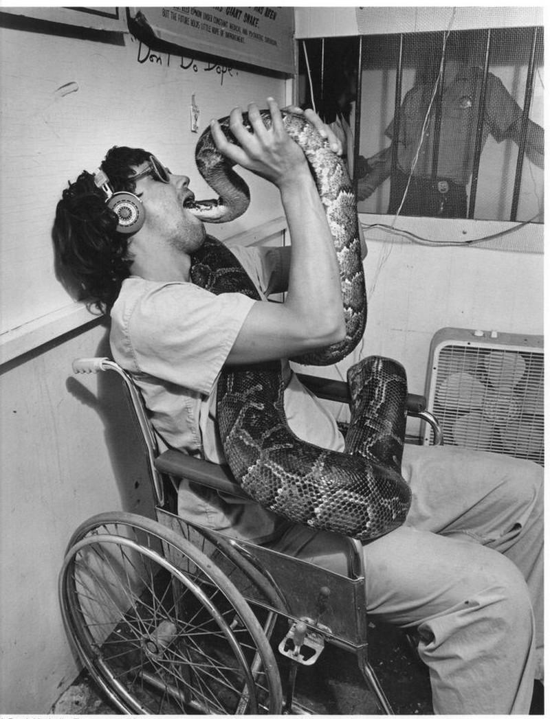 Американская история ужасов: реальные бродячие цирки в документальном фотопроекте Рэндала Левенсона 1971-81гг 31