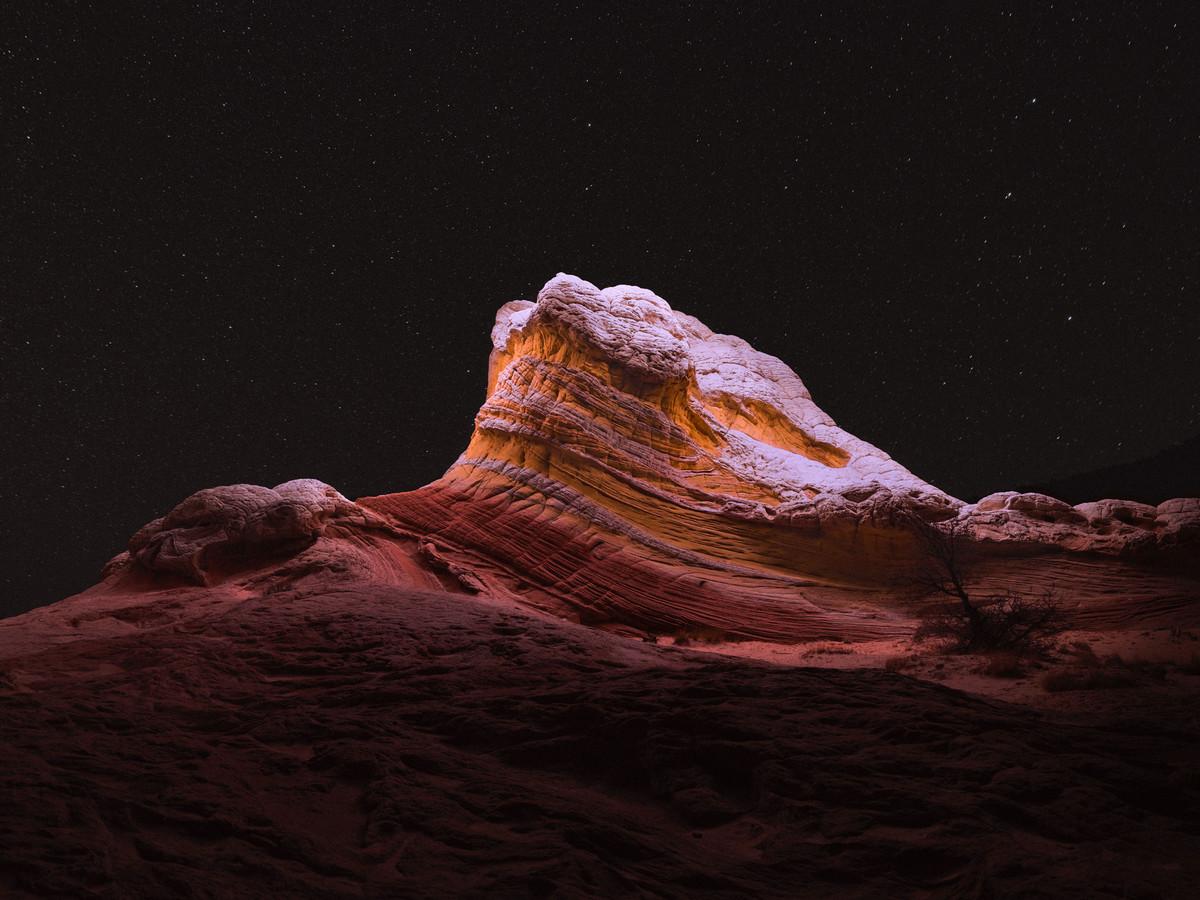 «Lux Noctis»: пейзажи, вдохновлённые научной фантастикой и живописью 19-го века 8