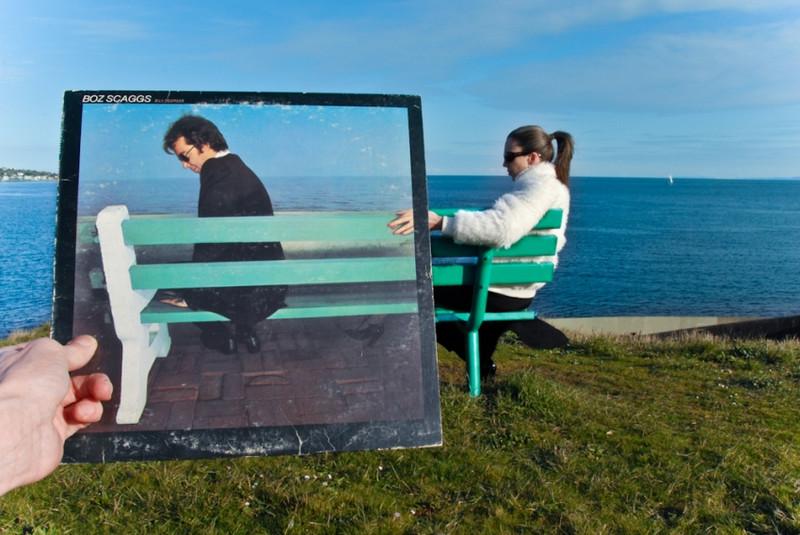 Люди с винилом – иллюзии и совпадения в проекте «Sleeveface» 26