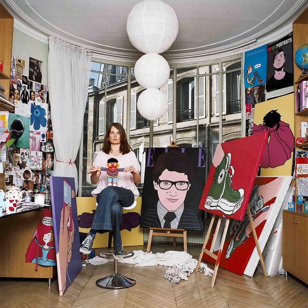 «75 парижанок» портретиста общества Бодуэна 54