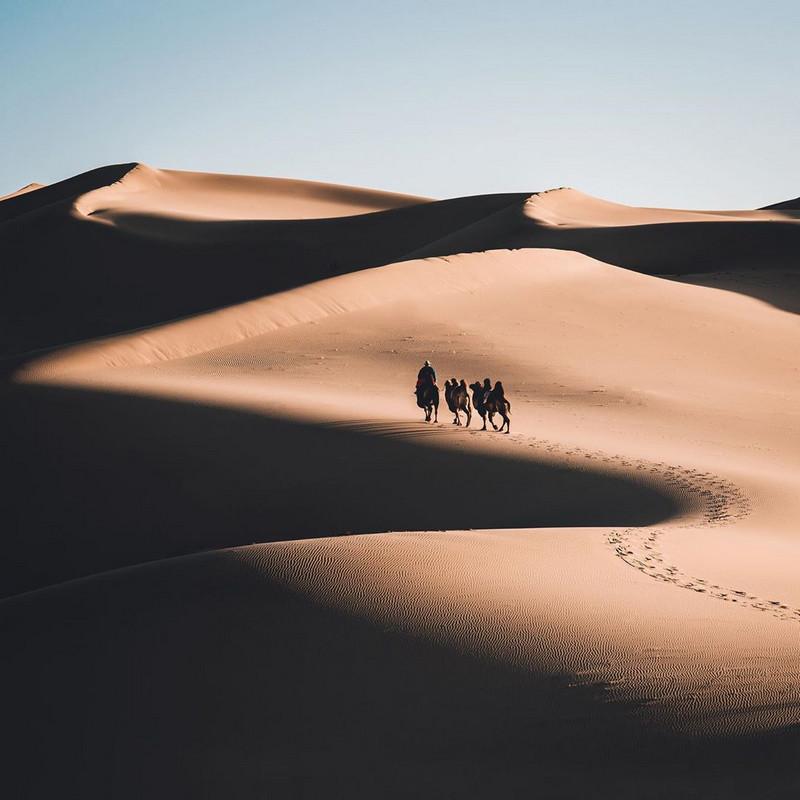 Фотографии Лео Томаса: от портретов орлиной охотницы в Монголии до пейзажей Гренландии 14