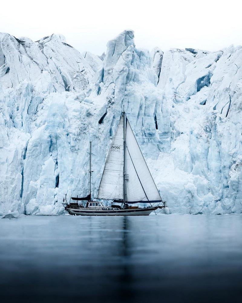 Фотографии Лео Томаса: от портретов орлиной охотницы в Монголии до пейзажей Гренландии 22