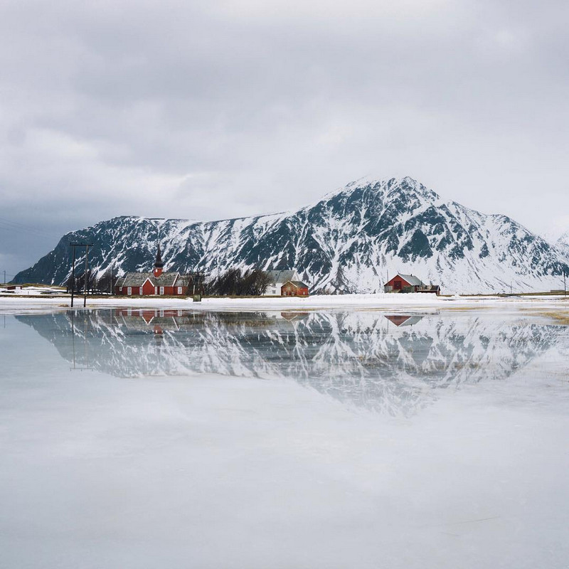 Фотографии Лео Томаса: от портретов орлиной охотницы в Монголии до пейзажей Гренландии 46