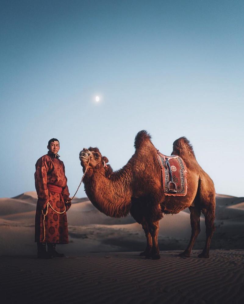Фотографии Лео Томаса: от портретов орлиной охотницы в Монголии до пейзажей Гренландии 6