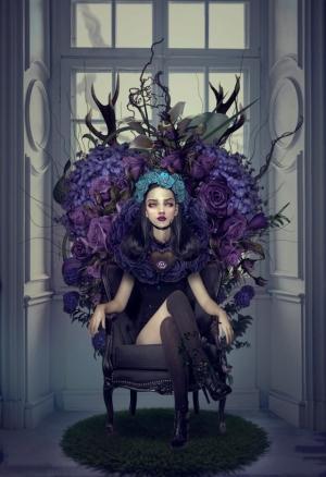 Мрачная красота в картинах фотохудожницы Натали Шау