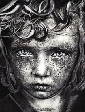 Портреты греческой художницы Кристины Папагианни (Christina Papagianni)
