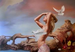 Причудливые и полные символизма картины Драгана Илича