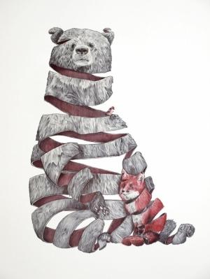 Симбиоз животных в рисунках из сновидений Жаума Монтсеррата (Jaume Montserrat)