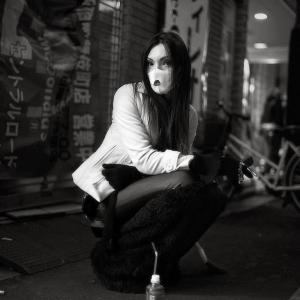 Японцы в социальных уличных фотографиях Шиньи Аримото