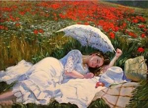 Нежные работы художника Владимира Волегова