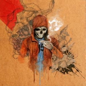 Креативный арт художника Ивана Камаргио