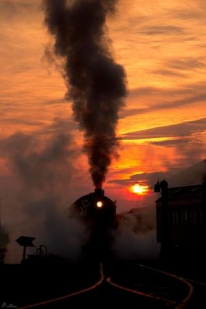Старинные поезда в фотографиях инженера Мэтью Малкиевича