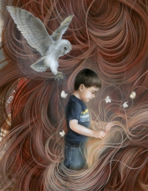 Сюрреалистичный художник Дэн May в мире снов
