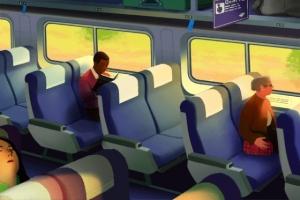 Живые кинематографические иллюстрации Ребекки Мок (Rebecca Mock)