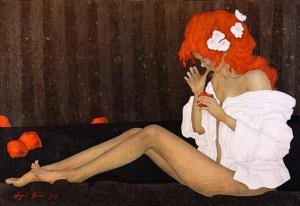 Художник Андрей Белле. Красота с ненарочитым эротизмом