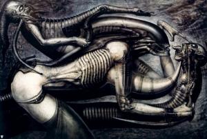 Картины страшно гениального Ханса Гигера