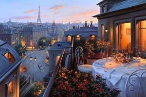 Свежий осенний воздух и романтика в картинах Евгения Лушпина