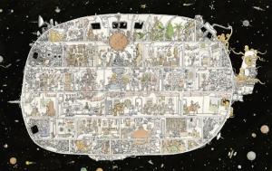 Эскизы и рисунки с маниакальной детализацией от Маттиаса Адольфссона