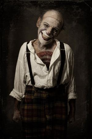 Портреты клоунов, от которых стынет кровь. Фотограф Эоло Перфидо