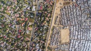 Черта бедности с высоты птичьего полёта в фотопроекте Джонни Миллера