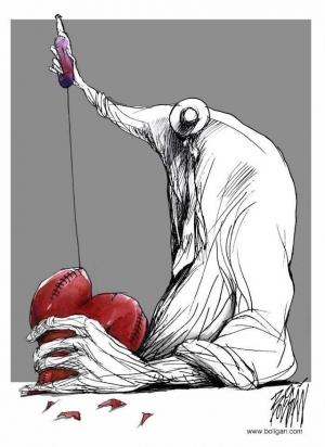 Грустные жизненные карикатуры Ангеля Болигана (Angel Boligan)