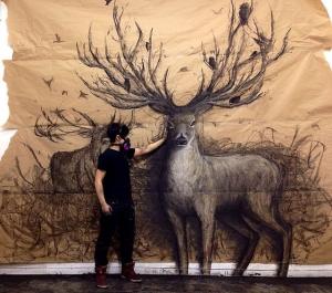 Реалистичные 3D-рисунки животных в натуральную величину