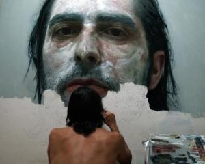 Реалистичные автопортреты или невероятные картины маслом Элоя Моралеса (Eloy Morales)