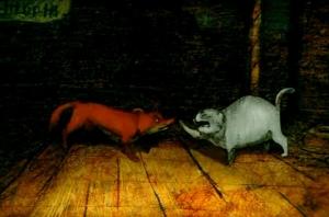 «Каштанка» – две красивые анимации классического рассказа Чехова