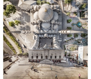Головокружительные стамбульские пейзажи с совмещёнными ракурсами