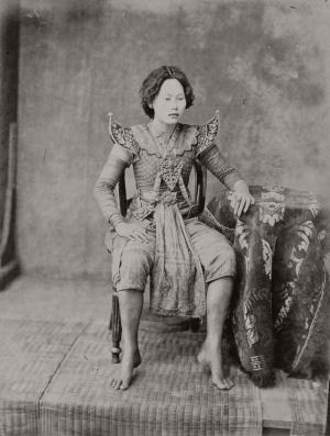 Старинные этнографические портреты Эмиля Гзелля