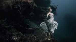 Изящные и мистические подводные портреты у берегов Бали