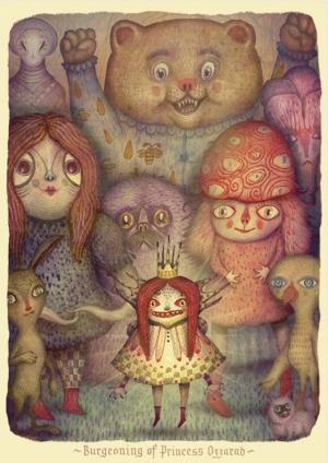Очаровательные GIF-монстры из сказочного мира художника Владимира Станковича