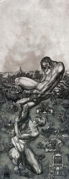 Театральные рисунки Виктории Горо-Рапопорт