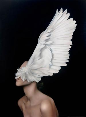 Девушки и птицы в мифических картинах Эми Джадд