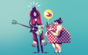 Иллюстрации Габриэля Сильвейры: как родители раздражают детей